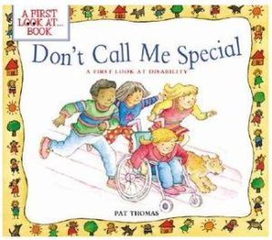 Don't Call Me Special book cover.