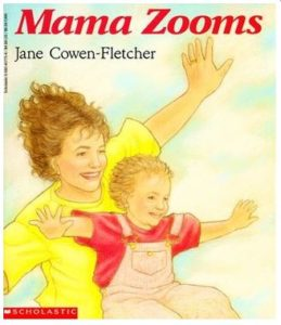 Mama Zooms book cover
