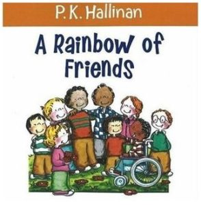 A Rainbow of Friends book cover.