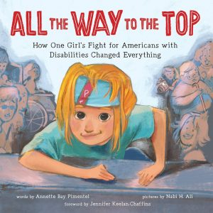 all the way to the top book cover.
