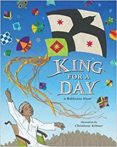king for a day book cover.
