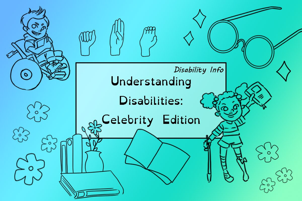 Understanding Disabilities: celebrity edition post cover.