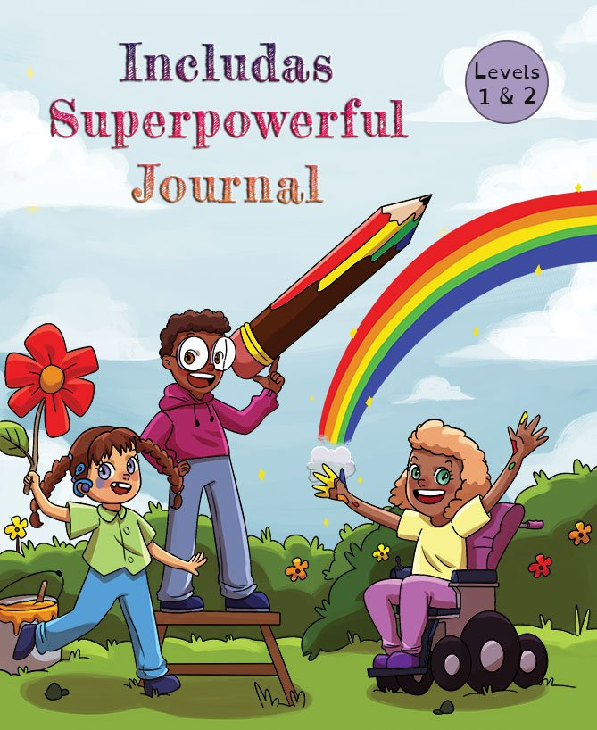 includas superpowerful journal levels 1 and 2 cover.