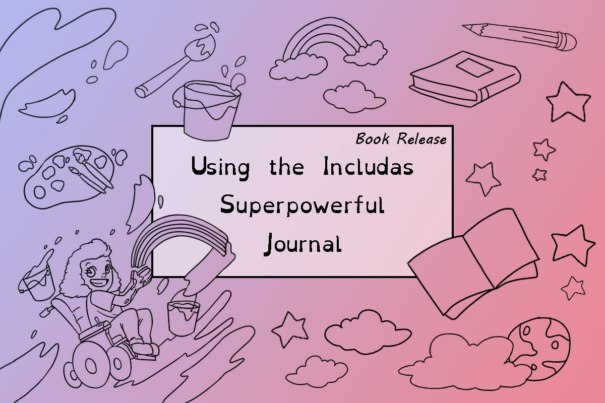 using the Includas Superpowerful Journal blog cover.