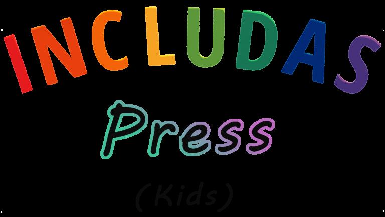 includas press kids, text.