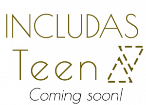 includas teen logo, coming soon.